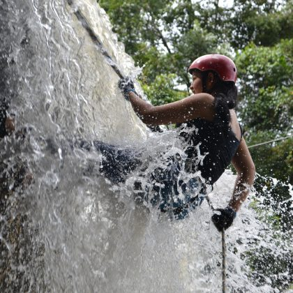 canyoning in jalbire