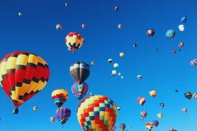 hot air balloon nepal