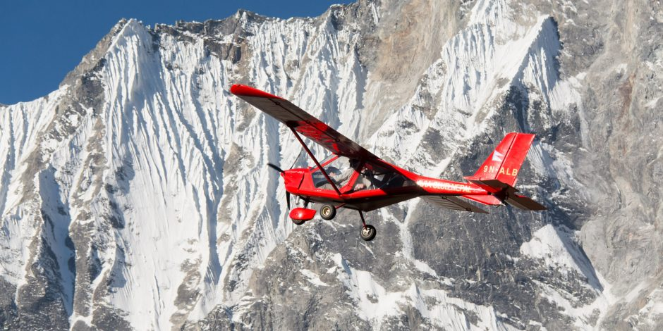 ultra light aircraft trip