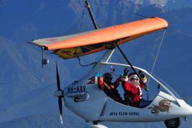 ultralight aircraft trip