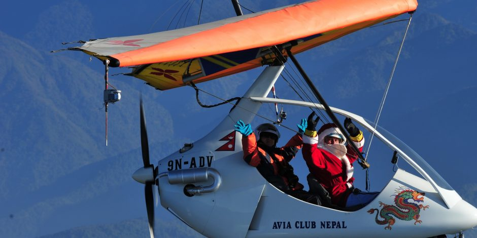 ultralight aircraft trip
