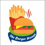 The burger house and stick food station